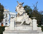 Ferdinand Raimund monument in Vienna, Austria — Stock Photo