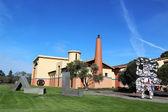 Clos Pegase winery in Napa Valley, California — Stock Photo