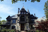 The Rhine house at Beringer winery in Napa Valley, California — 图库照片