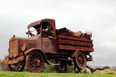 Calistoga Water Truck Sculpture in Napa Valley. — Stock Photo