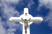 Gustavia Cross, St. Barths, French West indies — Stockfoto