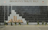 FDNY fallen firefighters memorial in Brooklyn, NY. — Stock Photo