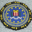 FBI emblem on fallen officers memorial in Brooklyn, NY — Stock Photo #23852481