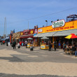 The Nathan's reopened after damage by Hurricane Sandy at  Coney Island Boardwalk — Stock Photo