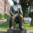 Hans Christian Andersen statue in Copenhagen - Stock Photo