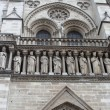Stock Photo: Kings statues at Cathedral Notre Dame de Paris