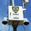 Stock Photo: NYPD security camerplaced at intersection in Staten Island, NY