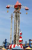 Coney Tower ride in Coney Island Luna Park — Stock Photo