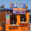 Ticket booth in Coney Island Luna Park. - Stock Photo