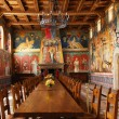 Castello di Amorosa Winery Great Hall in Napa Valley - Stock Photo