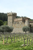 Castello di Amorosa Winery in Napa Valley. — Stock Photo