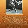 Billie JeKing Court plaque at US Open Court of Champions — ストック写真 #24423059