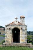 De kapel van castello di amorosa heurigen in napa valley — Stockfoto