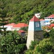 Stock Photo: Bell Tower in Gustavia, St. Barts