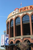 Citi Field, home of major league baseball team the New York Mets in Flushing, NY. — Stock Photo