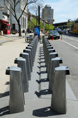 Citi bike station ready for business in New York — Stockfoto