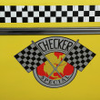 Stock Photo: Checker Taxi Cab produced by Checker Motors Corporation