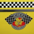 Checker Taxi Cab produced by the Checker Motors Corporation — Stock Photo #25509623