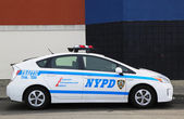 NYPD traffic control vehicle in Brooklyn, NY — Stock Photo