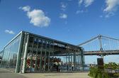 исторический джейн карусель в бруклинский мост парк — Стоковое фото