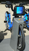 Citi fahrrad bereit für das geschäft in new york — Stockfoto