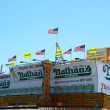 Nathan s Famous restaurant is reopen for business nearly seven months after superstorm Sandy severely damaged the iconic landmark  — Stock Photo