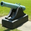 "12-pounder ""Napoleon' cannon, model of 1857 with handles at Fort Hamilton US Army base in Brooklyn — Foto Stock"