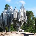 ������, ������: Jean Sibelius Monument in Helsinki Finland