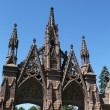 Stock Photo: Green-Wood cemetery gates in Brooklyn