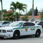 ������, ������: Miami Dade police department car in South Miami