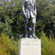 General John Pershing statue near the DeYoung museum in Golden Gate Park — Stock Photo