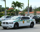 Miami - Dade police department car in South Miami — Stock Photo
