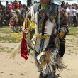 Stock Photo: Unidentified Native Americdancer at NYC Pow Wow in Brooklyn