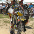 Stock Photo: Unidentified Native American dancers at the NYC Pow Wow in Brooklyn