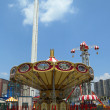Lynn's Trapeze swing carousel in Coney Island Luna Park — Stock Photo #27241773