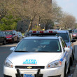 Stock Photo: NYPD axillary car in Brooklyn, NY