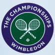 Stock Photo: Wimbledon tennis championship emblem