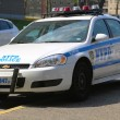 Stock Photo: NYPD patrol car in Brooklyn, NY