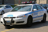 NYPD patrol car in Brooklyn, NY — Stock Photo