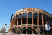 Citi field, hogar del equipo de béisbol de grandes ligas los mets de nueva york — Foto de Stock