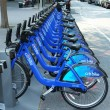 Citi bike station in Manhattan — Stock Photo