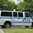Stock Photo: NYPD Auxiliary vin Brooklyn, NY
