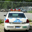 Stock Photo: NYPD school safety car in Brooklyn, NY