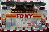 FDNY Fire Truck — Stock Photo