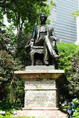 William H. Seward statue at Madison Square Park — Stock Photo