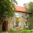Постер, плакат: The Historical Old Stone House in Brooklyn