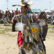 Stock Photo: Unidentified Native American dancer at the NYC Pow Wow in Brooklyn
