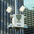 Stock Photo: NYPD security camerin Manhattan