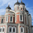 Alexander Nevsky Russian Orthodox Cathedral in Tallinn, Estonia — Stock Photo #28884745