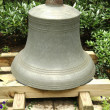 Stock Photo: bell at the plymouth church of the pilgrims in brooklyn heights